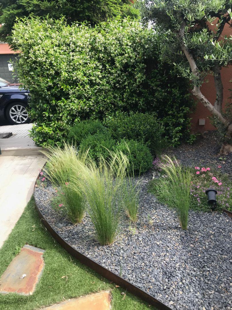jardín acceso