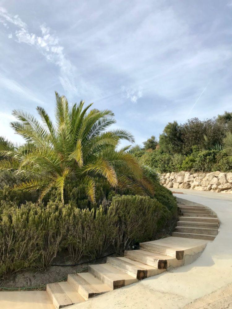 integración del jardín con la arquitectura